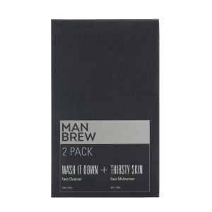 Man Brew 2 Pack Cleanser + Moisturiser