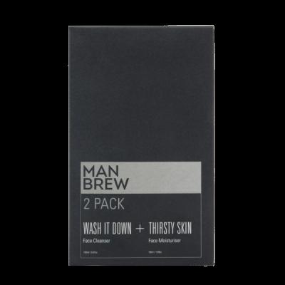 Man Brew 2 Pack Cleanser + Moisturiser
