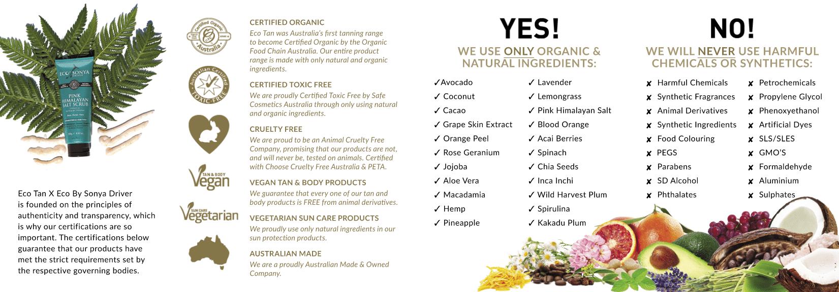 Eco Tan Information