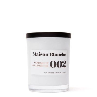 Maison Blanche Candles 002 Paperwhite & Clementine Candle