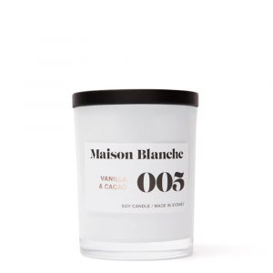 Maison Blanche Candles 005 Vanilla & Cacao / Medium Candle