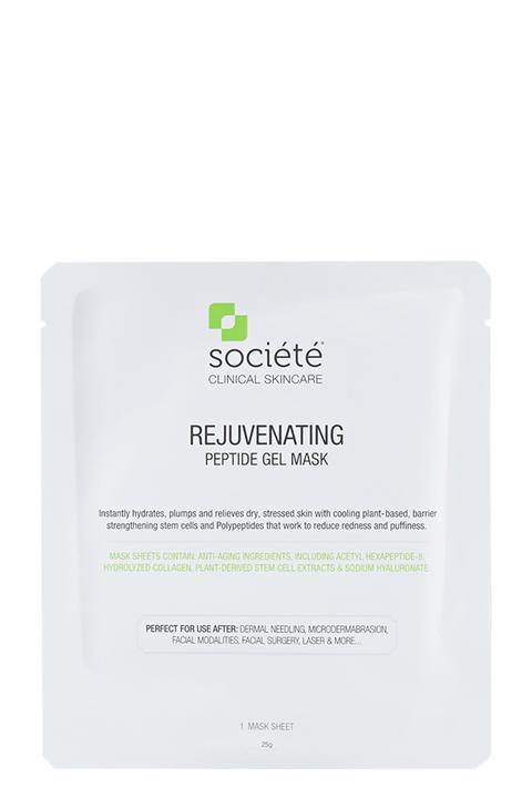 societe mask societe rejuvenating peptide gel mask 1 sheet mask 12467384680526